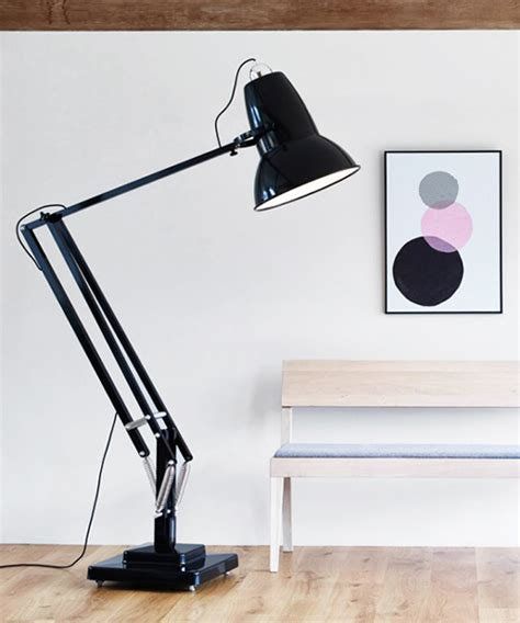 Light Up Desk by Anglepoise Scales Up Its 1930s Desk Light With L
