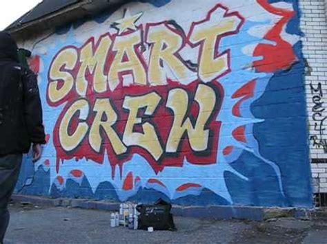 smart crew paints wild style graffiti tribute  nyc
