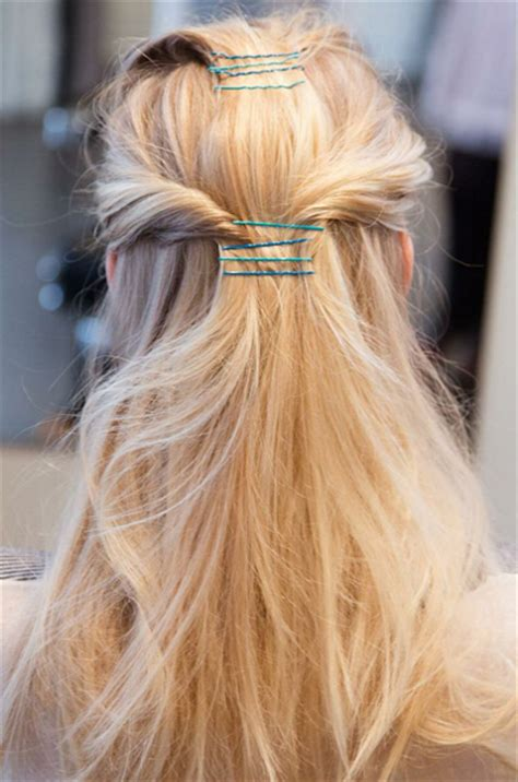 easy hairstyles with just bobby pins 12 simple and chic hairstyles with bobby pins pretty designs