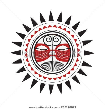 polynesian tattoo logo stock images similar to id 299732492 set of polynesian