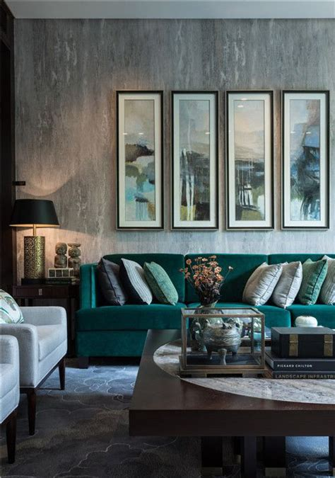 green living room decor 30 green and grey living room d 233 cor ideas digsdigs