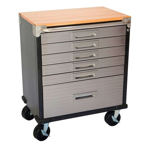 Roll Top Cabinet by 6 Drawer Timber Top Roll Cabinet Buy From Just Pro Tools