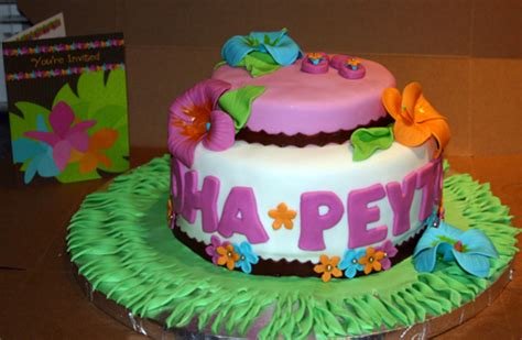 Luau Baby Shower by Luau Baby Shower Cake Cakecentral