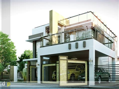 Modern House Designs Series Mhd 2014010 Eplans