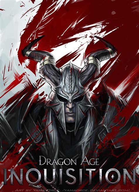 qunari tattoo dragon age inquisition dragon age inquisition qunari inquisitor by yamaorce on