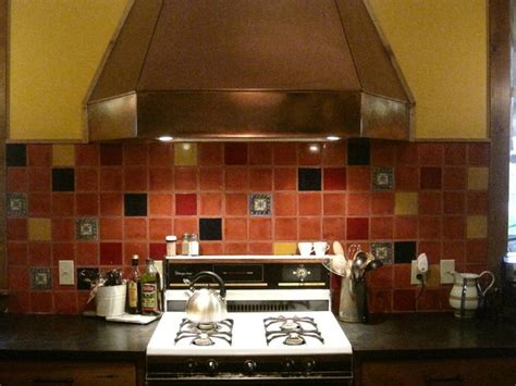 mexican tile interior inspirations kitchen backsplash
