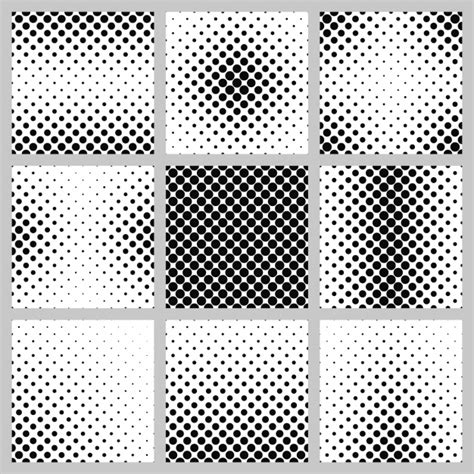 photoshop tutorial creating vector halftones abstract backgrounds collection vector free download