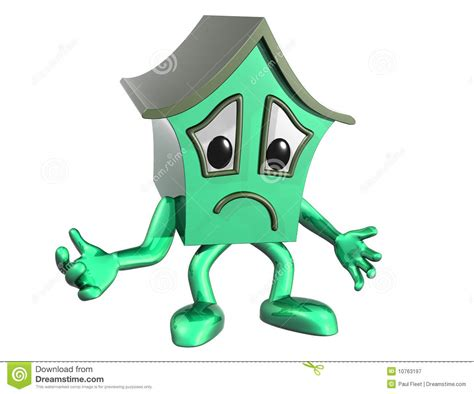 Houses Plans For Sale sad house stock illustration image of green home prices