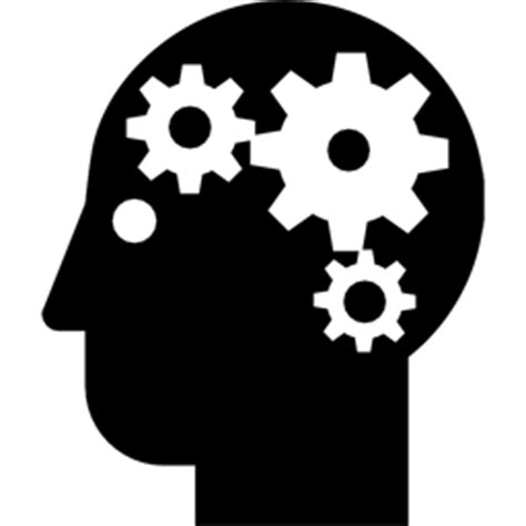 black white mind and ideas royaltyfree vector icon set stock vector 478271243 istock icones cerveau images cerveau humain png et ico
