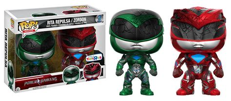 Funko Pop Original New Power Rangers Yellow Ranger toys r us exclusive and zordon funko pops out now fpn