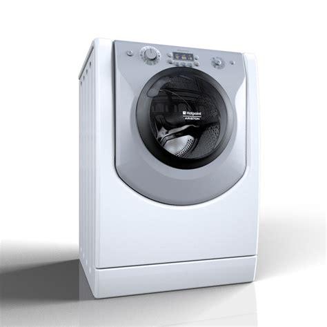 Hotpoint Ariston Waschmaschine by Hotpoint Ariston Aqualtis 3d 1143286 Turbosquid