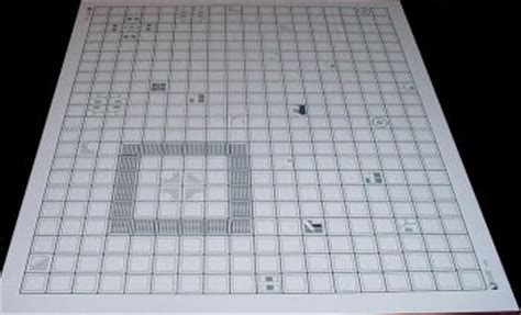 1 Inch Grid Mat by Tmp New 1 Inch Square Grid Lexan Terrain Mats Available