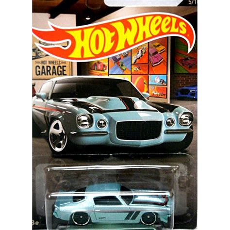 Hotwheels Camaro Series wheels garage series 1970 chevrolet split bumper
