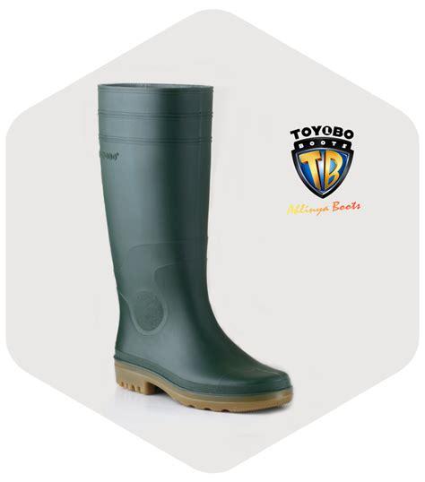 Sepatu Boot Karet Warna Kuning sepatu toyobo boots karet surabaya jual sepatu toyobo