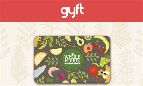 Whole Foods Gift Card Discount - sold out buy a 100 whole foods gift card get a 20