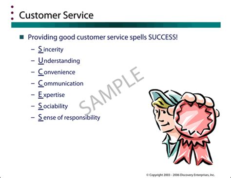 customer service manual template sle pages from pulse slide presentations guide