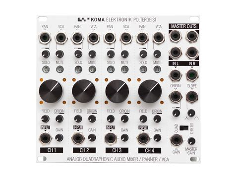 Mixer Elektronik poltergeist quadraphonic mixer koma elektronik