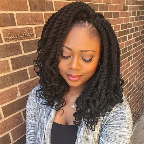 shoulder length senegalese twists 31 stunning crochet twist hairstyles protective styles