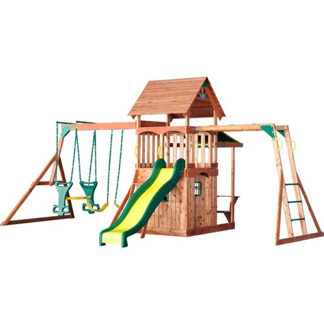 backyard discovery saratoga swing set best backyard swing sets our top 10 picks