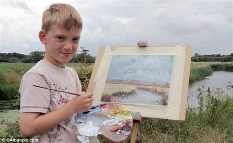 painting for seven year olds kieron williamson makes 163 150 000 in 30 minutes by selling