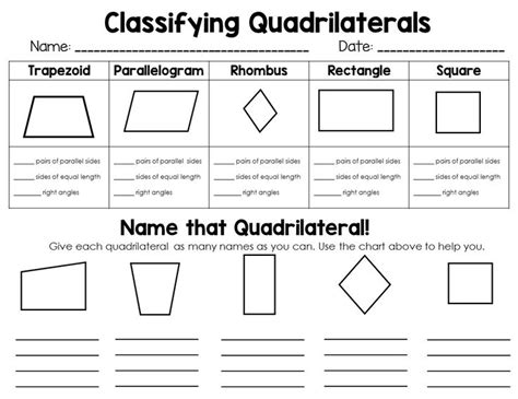 Classifying Polygons Worksheet by Classifying 2d Shapes Polygons Triangles Quadrilaterals
