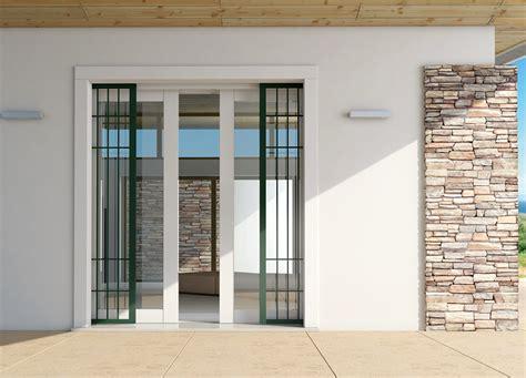inferriate porta finestra controtelaio per porte finestre che combinano alzante e