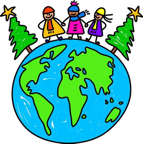 christmas around the world kids section