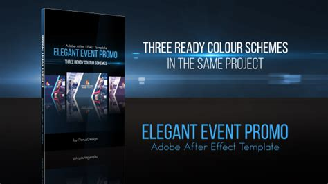 Elegant Event Promo Commercials After Effects Templates F5 Design Com After Effects Event Promo Templates Free