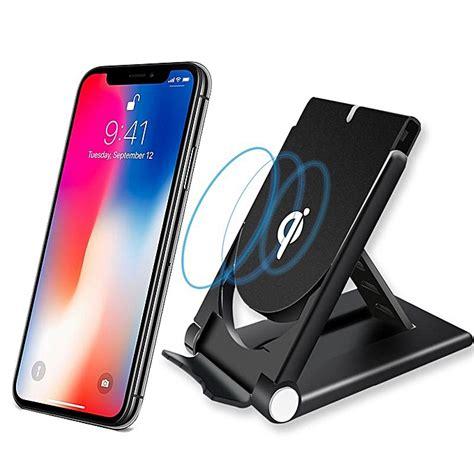 qi chargeur sans fil compatible iphone x 8 plus samsung s8 plus s7 s6 noir prix pas