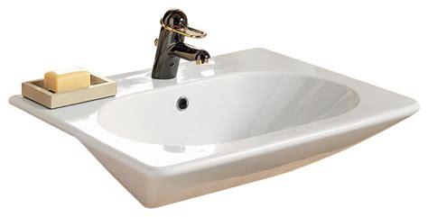 porcher bathroom sink ebla semi encastre lavatory contemporary bathroom