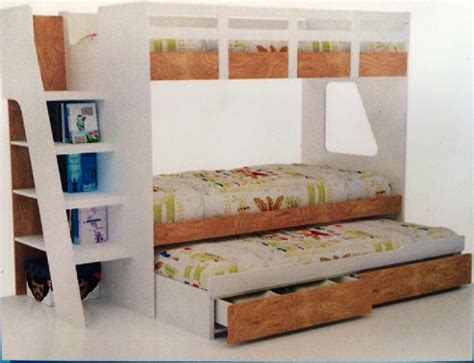 bed in box bunk bed single with trundle and drawers new in box new