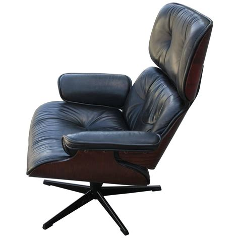 eames style lounge chair and ottoman iconic eames style lounge chair and ottoman at 1stdibs