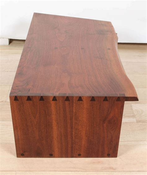 Shelf With Drawers Wall Mounted by George Nakashima Wall Mounted Shelf With Drawers At 1stdibs