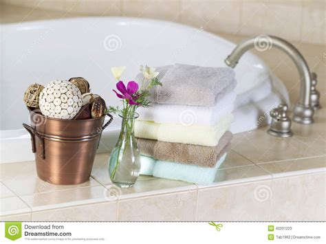 bathroom e choda ma ko bathroom me choda bath with spa accessories stock
