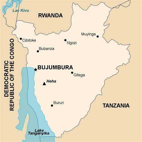 africa map burundi burundi map map2