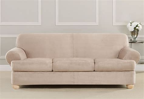 Sure Fit 3 Sofa Slipcover 3 Cushion Sofa Slipcover Smalltowndjs