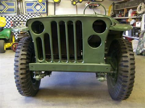 willys jeep blackout light airborne lightweight jeeps ewillys