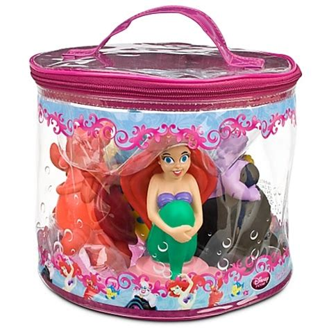 ariel bathtub toy amazon com disney ariel bath toy play set 4 pc toys