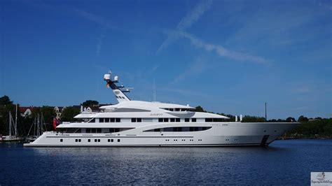 yacht areti areti spotted in kiel germany yacht harbour
