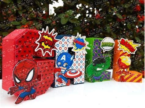letras decoradas hulk letras decoradas mesas de dulces superheroes avengers