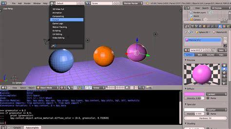 blender 3d python tutorial blender tutorial using python expressions to test values