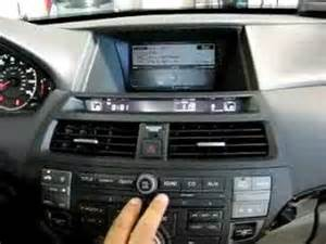 pxamg operation in 2009 honda accord with navigation