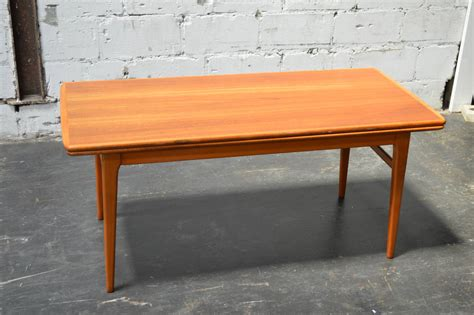 expandable coffee table swedish mid century expandable adjustable height coffee