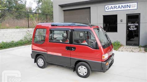 subaru minivan 1991 subaru sambar dias2 awd supercharged kei mini van
