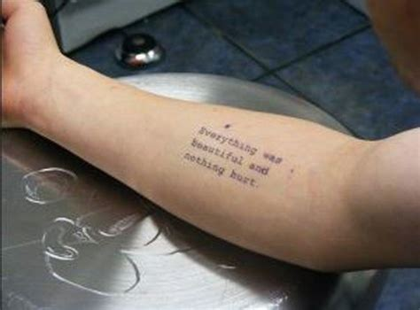 50 coolest literary tattoos in pictures