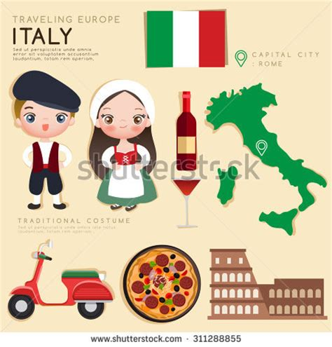 art project for italian christmas tradition traditional costumes clipart 80