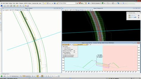 interactive cross sections civil and transportation mapping software geopak ces