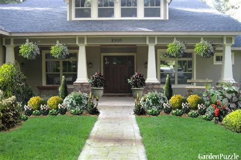 craftsman style home gardenpuzzle online garden planning tool