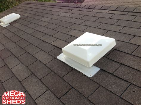 Shed Roof Vents by Mega Storage Sheds Options Roof Vents