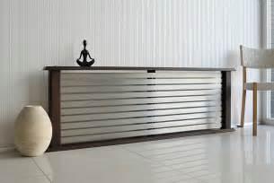 Leather Storage Bench Bedroom Living Space Modern Radiator Modern Living Room